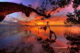 Coucher de soleil-mer