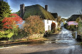 For 715ajan3 Autumn In England ~ Devon Village UK Autumn Pint