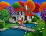 Pooh Sticks - Iwona Lifsches