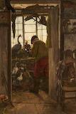 The Chadderton Taxidermist, by John Haughton Haigh (1842 - 1934)