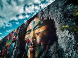 Artsy Brick Wall 4