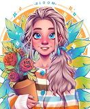 Girl with Flowerpot