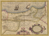 Mapa del norte de España, siglo XVII