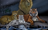 Painting animals jungle