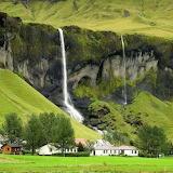 Fagrifoss Waterfall, Iceland