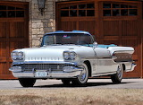 1958 Pontiac Bonneville Convertible Coupe