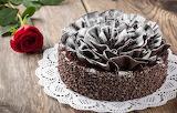 Chocolate, cake, dessert, sweet