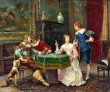 Card Game~ Francesco Vinea (1845-1902)