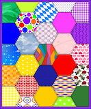 Hexagon Colour Patches 2