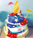 Sea lover's cake @ My Cake Boutique