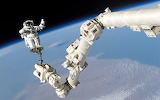 Space ISS Canadarm2 STS-114