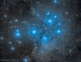 "Space tumblr NASA-daily ""M45- The Pleiades Star Cluster"""