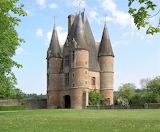 Entrance to Chateau de Carrouges - France
