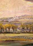Winter Landscape. Fritz Syberg 1919