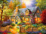 Country Cottage~ Nicky Boehme wallpaper 1026x768-116