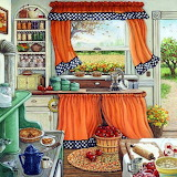 Breezy kitchen