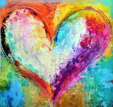 Heart of colors