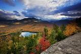 Lake Adirondack mountains New York