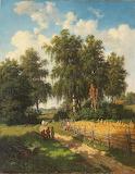 Valerian Kamenev. Summer day