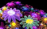Fantasía sobre flores