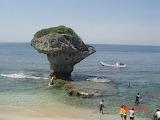 Taiwan,Pingtung,Vase Rock, îlot de Liuqiu