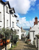 Clovelly Village England UK Britian