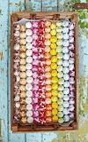 Meringue Rainbow Kisses