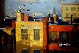 Pigeons - John French Sloan