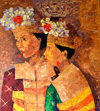 Two-balinese dancers