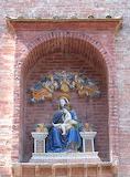 Abbazia di Monte Oliveto Maggiore Siena - terracotta 2 dei della