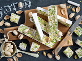Food halva with pistachios
