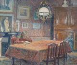 Henri Lebasque, Sous la lampe, 1904