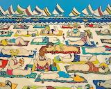 ^ Beach Buns ~ Rebecca Stringer Korpita