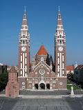 'arrière de l'église votive, Szeged, Hongrie