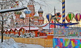 Red-square-Christmas-market-Moscow