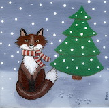 ^ Fox in a Scarf ~ Ryan Conners