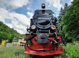 Railroad Engine Thuringen Germany