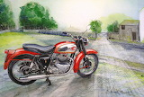 Painting Motorcycle
