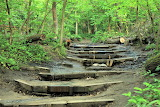 Illinois starved rock state park hiking steps