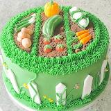 Veggie garden cake @ Renshaw Baking