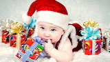 ☺ Cute little Santa...