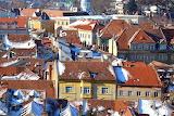 Transylvania Romania rooftops