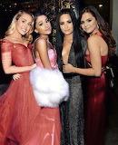 Miley Cyrus, Ariana Grande, Demi Lovato & Selena Gomez