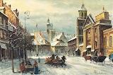 Władysław Chmielinski - Zima w Warszawie