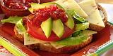 ^ Spicy Southwestern Sandwich