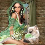 Mujer fantasía