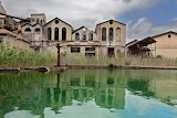 Abandoned homes after mine of Montevecchio Italy closed