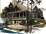 Mid-century modern home plans