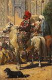 V.V. Vereshchagin. The horseman in Samarkand. 1872