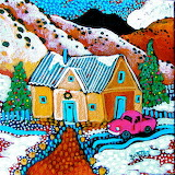 Sally Bartos, christmas art...